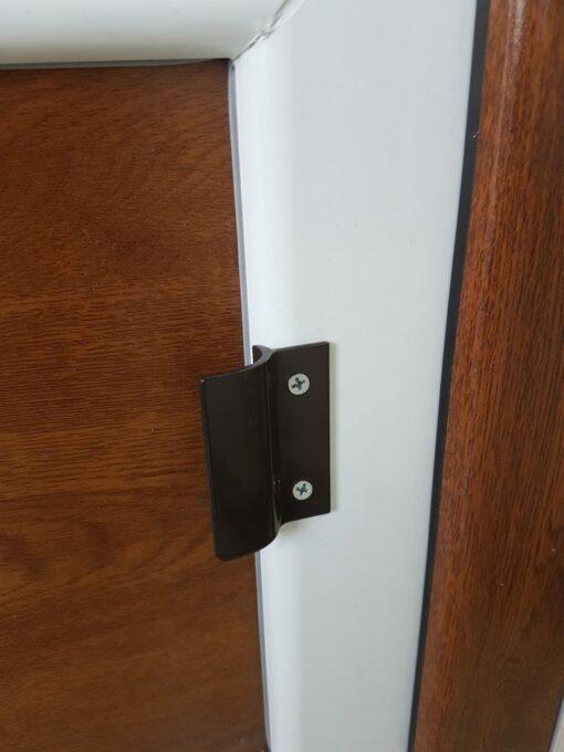 Zavor cu bila usa balcon termopan