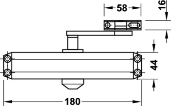 Amortizor usa Hafele DCL 11