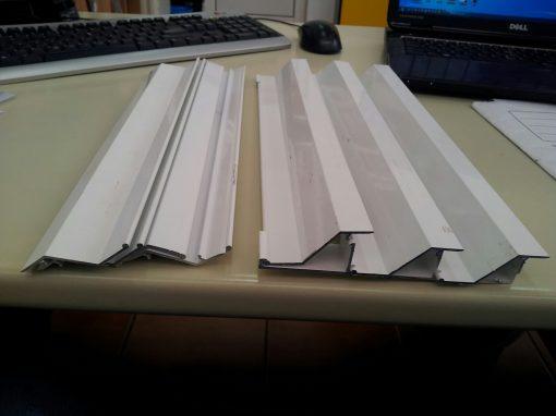 Grile ventilatie din aluminiu pentru usi