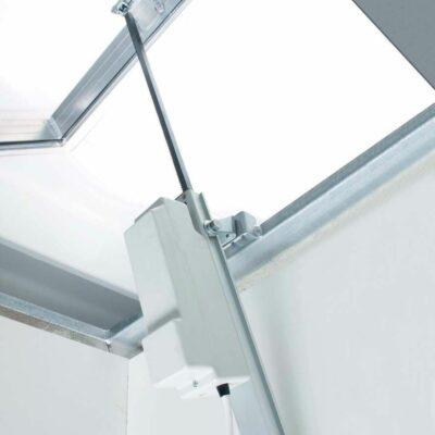 Rack automatizare cu cremaliera pentru ferestre