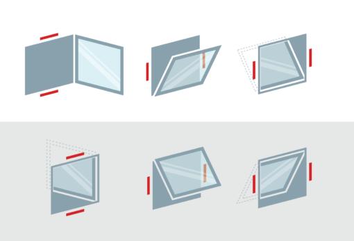 Automatizare desfumare ferestre deschidere 90 grade