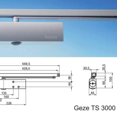 Amortizor usa cu sina culisanta GEZE TS3000 V